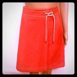 Ann Taylor Skirts - Ann Taylor orange skirt NWOT